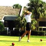 Golfing Picture